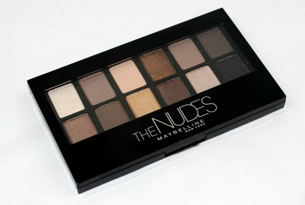 MAYBELLINE Палетка теней The Nudes