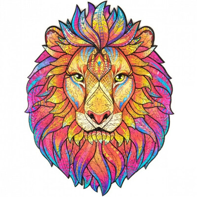 Пазл лев