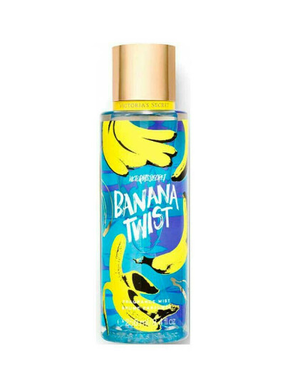 Victoria's Secret спрей для тела Banana Twist, Fragrance Body Mist, 250ml