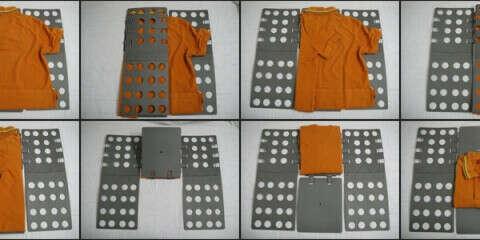 FlipFold - складывалка для одежды