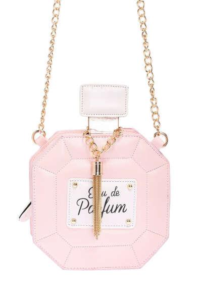 ROMWE Perfume Shaped Mini Pink Bag