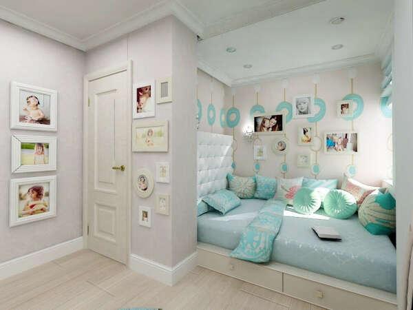 идеальную свою комнату