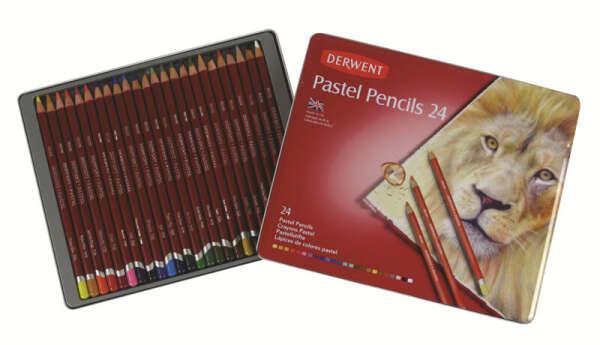 Набор пастельных карандашей Derwent 24