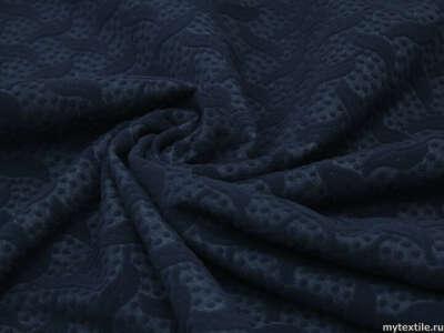 Неопрен синий с абстрактным узором