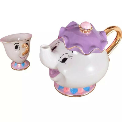 "Чайник и чашка из ""Красавицы и чудовище"""
