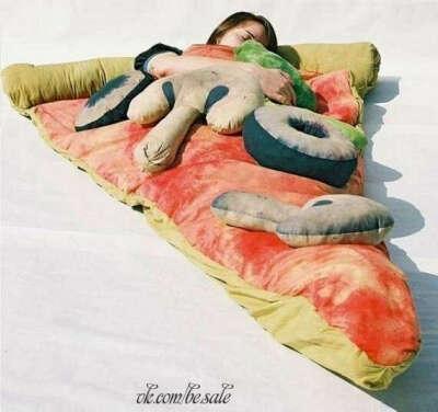 Клевый спальник