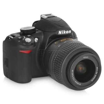 зеркальный фотоаппарат Nikon D3100 Kit AF-S DX 18-55mm VR Black