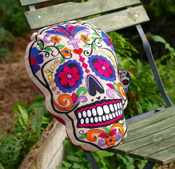 Подушка Sugar Skull