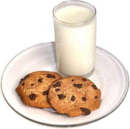 Печенья с шоколадом и молока)