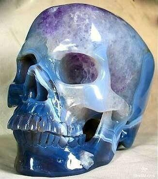 Аметистовый череп