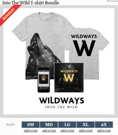 Wildways CD+ майка