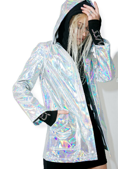 Holographic Raincoat