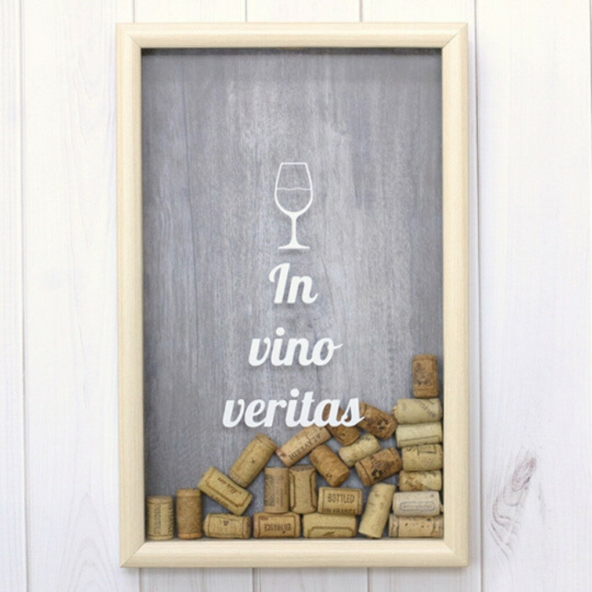 Копилка для винных пробок Wine / In Vino Veritas