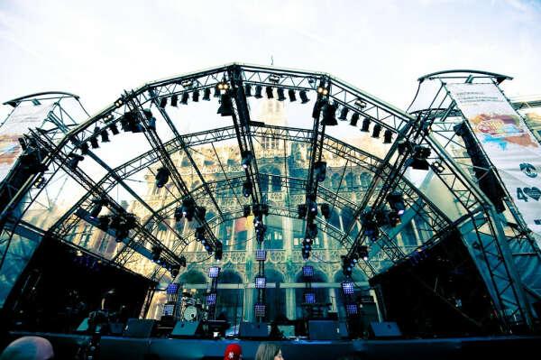Сеть концертных площадок