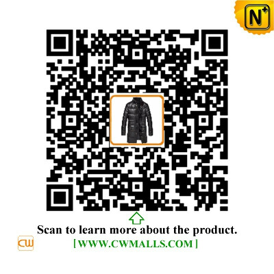 CWMALLS® New York Leather Down Coat CW817005