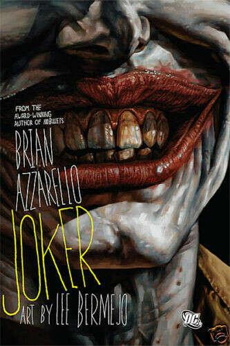 Joker HC Brian Azzarello & Lee Bermejo DC Batman Riddler Two Face Arkham Asylum