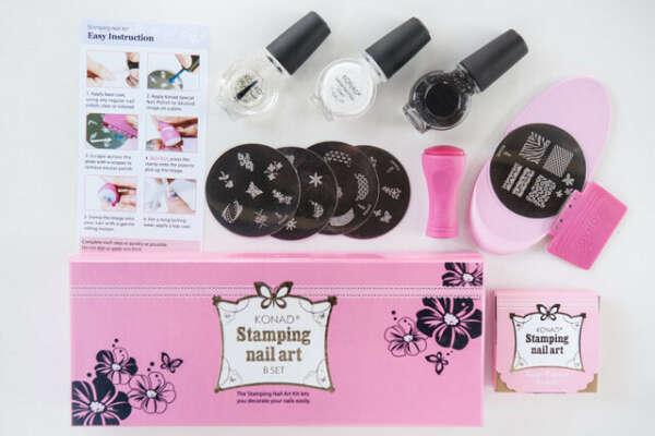 Konad - Stamping Nail Art B Set