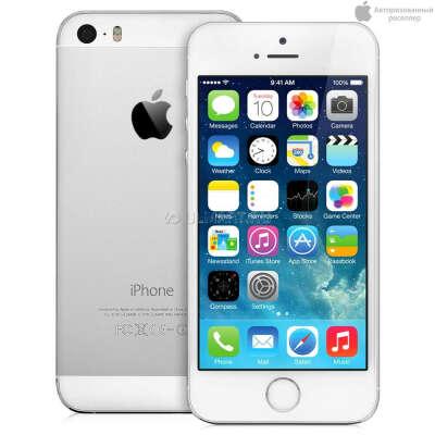 Смартфон Apple iPhone 5S 16Gb Silver ME433RU/A