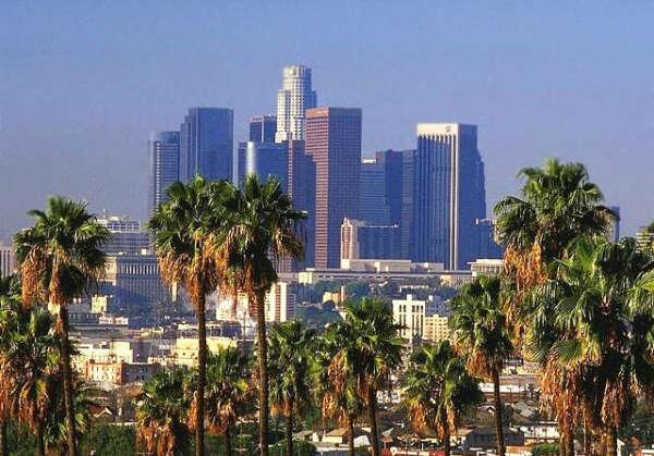 Побывать в Лос-Анджелесе^^