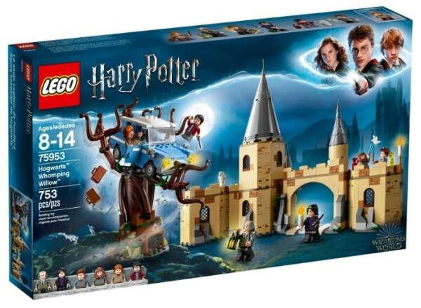 Купить товар Конструктор LEGO Harry Potter 75953 Гремучая ива