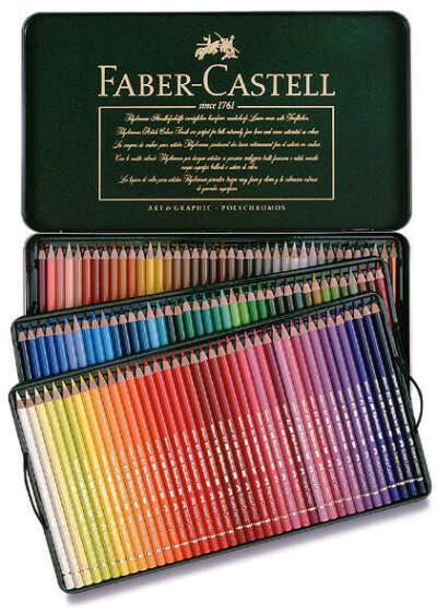 Карандаши цветные FABER-CASTELL Polychromos 120 цветов