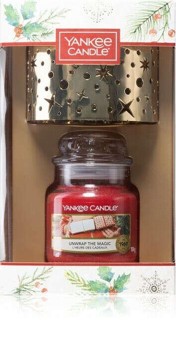 Yankee candle Набор Рождество с абажуром