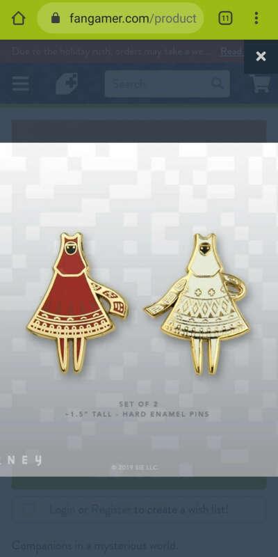 Journey pins