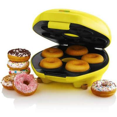 Приготовление пончиков дома