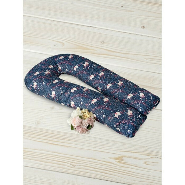 Подушка для беременных U-образная Лисички 340х35 см AmaroBaby — купить в Москве в интернет-магазине Акушерство.ру