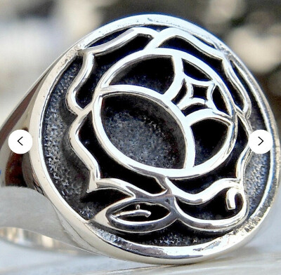 Utena Handmade 3D Ring Solid Sterling Silver 925
