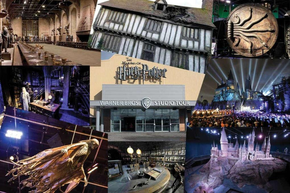 Поехать в студию Гарри Поттера  в Лондоне