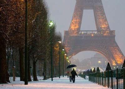 Хочу в зимний  Париж:)
