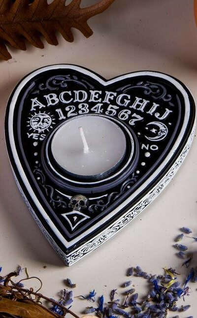 Spirit Board Tea Light Holder