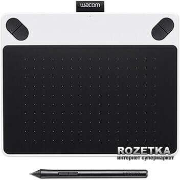 Графический планшет Wacom Intuos Draw Pen S North White (CTL-490DW-N)