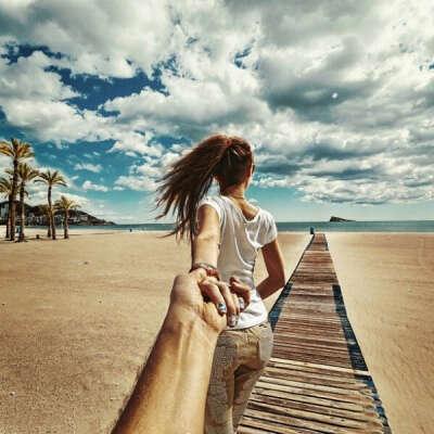 Отправиться в путешествие с любимой