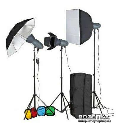 Фотостудия и оборудование