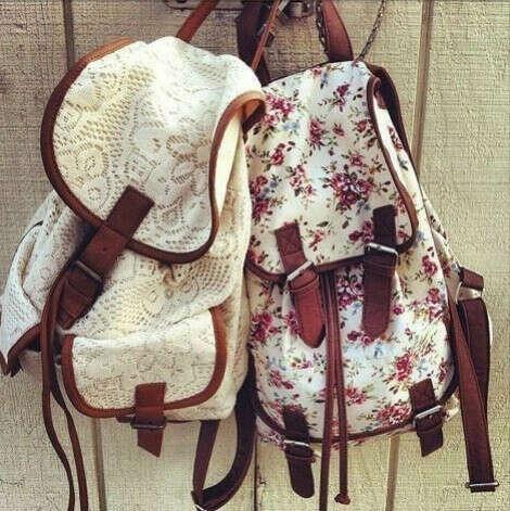 Винтажные рюкзаки