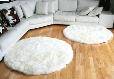 Белый коврик