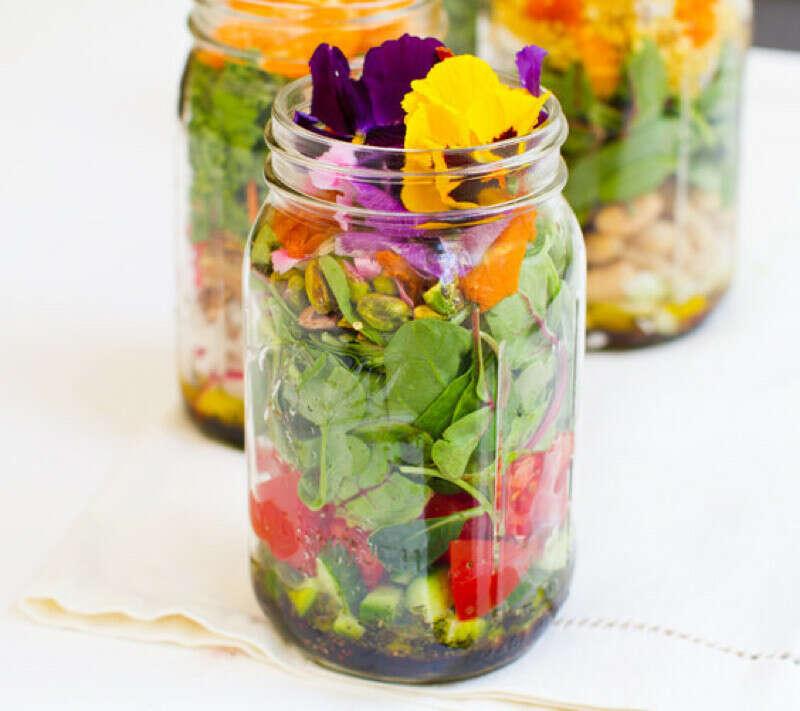 Приготовить Mason Jar Salad