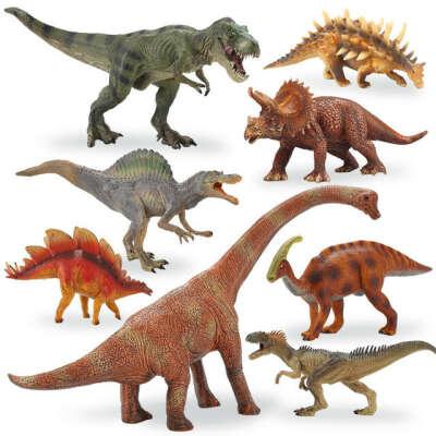 Игрушечные динозаврики и дракончики
