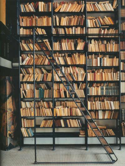Иметь роскошную библиотеку