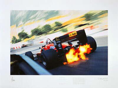 Poster – Ferrari Turbo