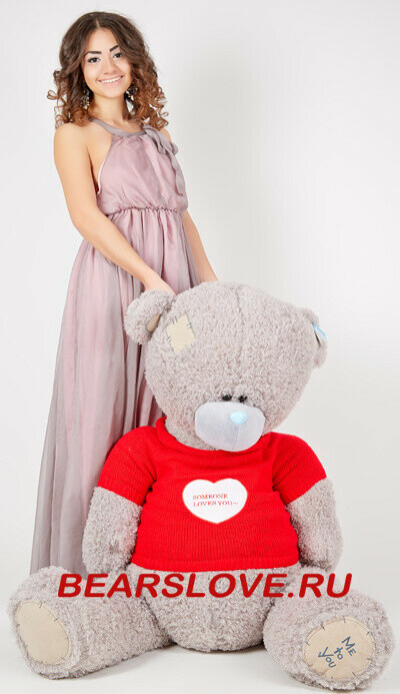 Огромного мишку Teddy