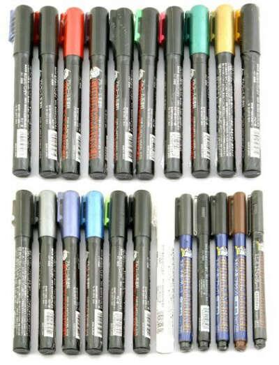 GSI Gundam Marker Pen Set of 22ea