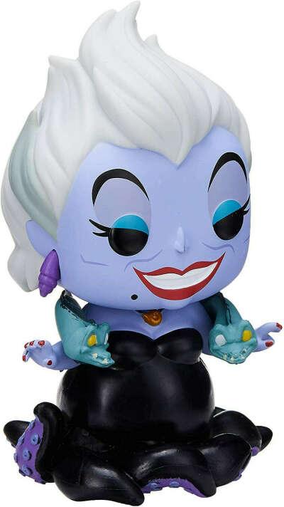 Amazon.com: Funko Pop! Disney: Little Mermaid - Ursula with Eels, Multicolor, Standard: Toys & Games