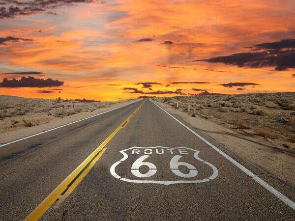 Проехать по трассе 66 в США