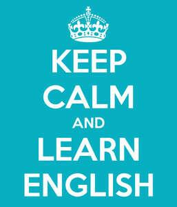 Говорить по-английски.