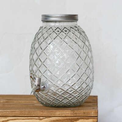 Диспенсер для напитков (лимонадник) Pineapple 4.5 L купить в Украине: цена 635 грн., отзывы ᐈ Тарлини