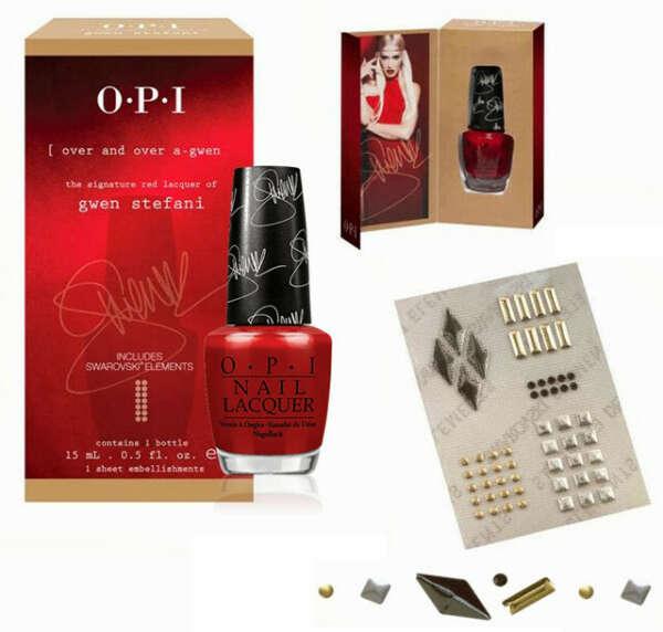 Signature Shade Promotion Contents - набор созданный и подписанный Gwen Stefani: для OPI