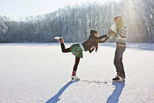 научиться кататься на коньках